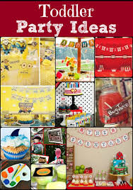 toddler birthday party ideas toddler party ideas not your same party