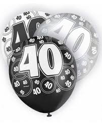 40th birthday delivery 40th birthday party supplies free delivery 50 uk orders