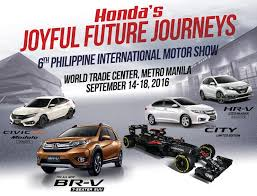 honda motors philippines honda officially launches the honda booth at the 6th pims wazzup