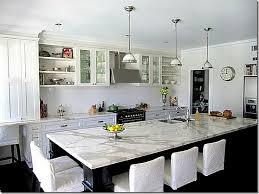 white marble kitchen island a ton of gorgeous kitchens and bath pics different types