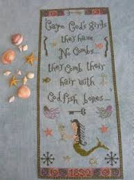 Cape Cod Girls - for the bathroom along with cape cod girls cross stitch and