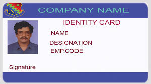 Id Card Design Psd Free Download Card Photoshop Id Card Template
