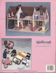 fashion doll barbie size plastic canvas pattern booklet