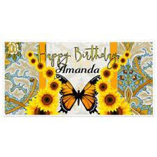 sunflower butterfly birthday decoration backdrop ebay