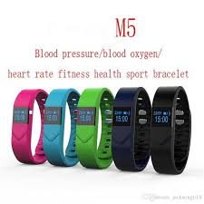 heart monitor bracelet iphone images Health wristwatch m5 smart watch blood pressure blood oxygen jpg