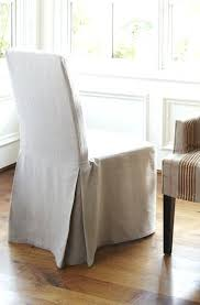 Dining Room Chair Slip Cover Gorgeous White Slipcover Dining Chair Starlize Me