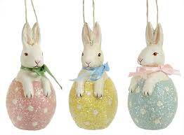 easter egg ornaments easter glass vintage ornaments traditions