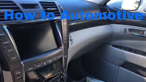 2008 lexus gs 460 gas mileage how to replace the cabin air filter on a 2008 lexus ls 460 youtube