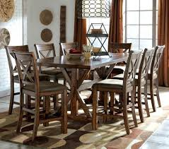 rustic high top table distressed table and chairs dining tables distressed dining table