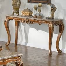 Antique Sofa Tables by Marble U0026 Granite Console U0026 Sofa Tables You U0027ll Love Wayfair