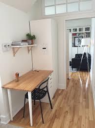 bureau pas large avant après aménagement d un coin bureau dans la cuisine la