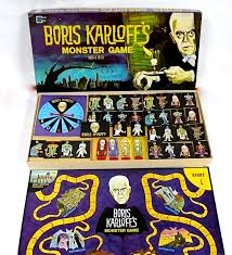 vintage monster board game looks neat but i do not recall this