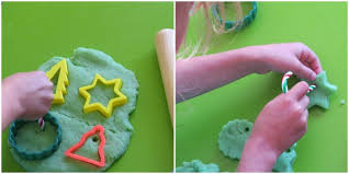 play dough ornaments recipe peppermint play dough plays
