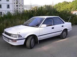 toyota car information toyota corolla 1988