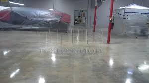 affordable warehouse polished concrete hybrid concrete polishing