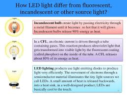 what is the difference between led and incandescent light bulbs led ls