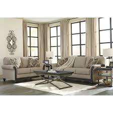Transitional Sofas Furniture Transitional Sofa With Rolled Arms U0026 Showood Trim In Dark Finish