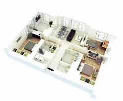 one bedroom house plans one bedroom house plan 3d new 25 more 3 bedroom 3d floor plans