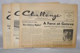 Challenge Official Challenge Official Publication Of The S Socialist