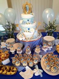royal prince baby shower ideas contemporary decoration blue and gold baby shower decorations