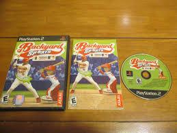 backyard sports baseball 2007 sony playstation 2 2006 ebay