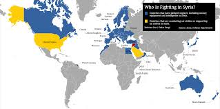 World Map Of The United States by Here U0027s A Map Of Obama U0027s Coalition Against The Islamic State