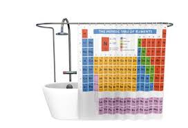 Amazing Deal On Periodic Table Shower Curtain Kids Children Getdigital Periodic Table Shower Curtain Amazon Co Uk Kitchen U0026 Home