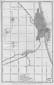 City Of Chicago Map by The Great Chicago Fire Of 1871 Architecture U0026 Design Visual