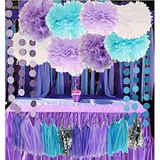 babyshower theme mermaid baby shower decorations