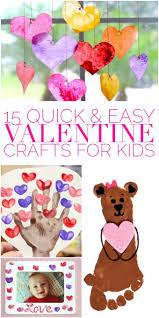 15 quick u0026 easy valentine crafts for kids valentine crafts