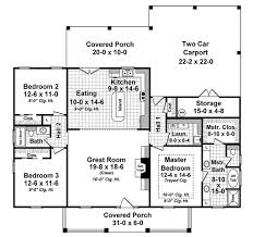 colonial style house plan 3 beds 2 00 baths 1640 sq ft plan 21 338