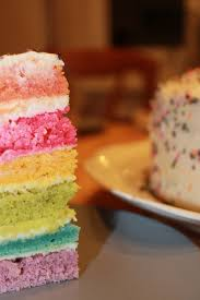 hervé cuisine rainbow cake le rainbow cake ou le gâteau arc en ciel le de