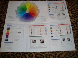 Hair Color Wheel Chart Chi Ionic Perm Shine Hair Color Chart Wall Featuring Wheel
