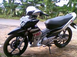 dunia modifikasi motor januari 2014 warna jupiter mx 2013 Jupiter Mx Modifikasi Warna Putih modif warna jupiter mx 1436