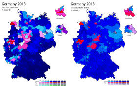 Early Election Results Map by Germany 2013 World Elections