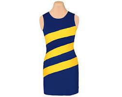 blue navy gold yellow gameondresses