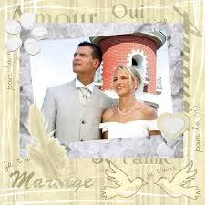 scrapbooking mariage scrapbooking mariage kit