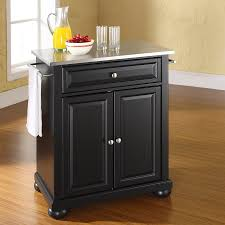 crosley furniture kitchen island shop crosley furniture black craftsman kitchen island at lowes