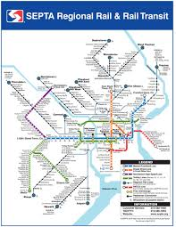 Chicago Trolley Map by Maps And Directions Lincoln Financial Field
