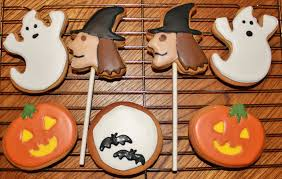 halloween biscuits by sarah jessica
