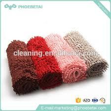 Luxury Microfiber Chenille Bath Rug Carpet Factoty Anti Slip Luxury Washable Bathroom Microfiber