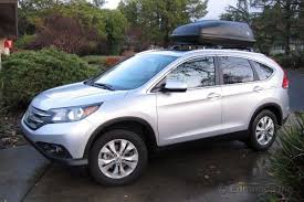 honda crv cargo box installing a factory rooftop cargo box 2012 honda cr v term