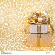gold wrapping paper gift box in gold wrapping paper stock image image 34483429