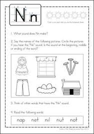 60 best letter u0027n u0027 images on pinterest letter n activities