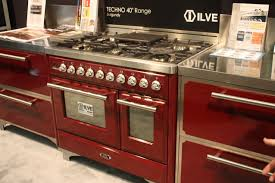 Red Kitchen Range Appliances Colorful Kitchen Appliances Lipstick Alley