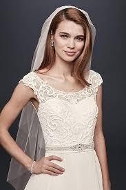 wedding veils ivory wedding veils david s bridal