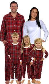 sleepytimepjs plaid family matching pyjamas m set 2x