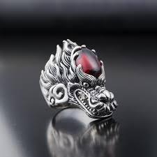 buy rings silver images Buy fashion cool punk dragon head ring 925 jpg