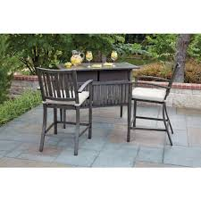 Bar Set Patio Furniture Woodard Patio Furniture Outdoors The Home Depot
