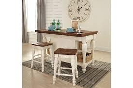 Stools For Kitchen Island Marsilona Kitchen Island Ashley Furniture Homestore